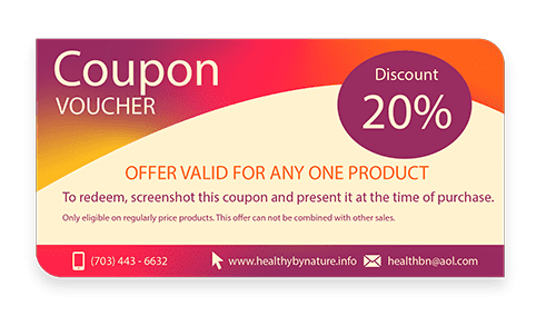 20% OFF Website Coupon(small)